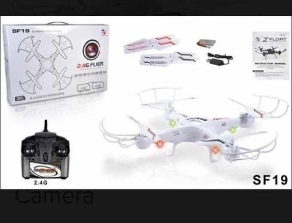 Drone Sf19 2.4 Ghz 4 Canais Super Flíer Com Câmera