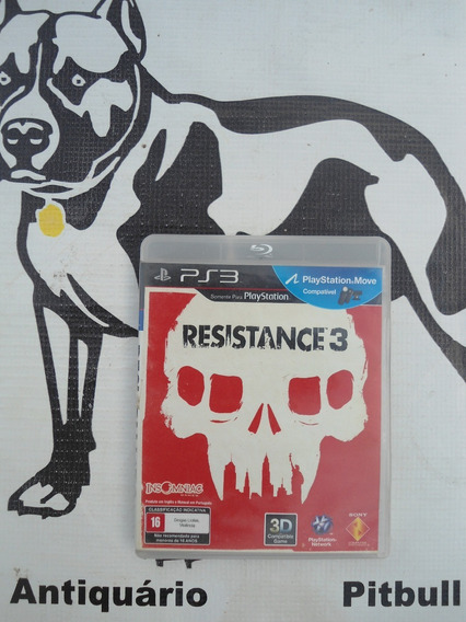 Resistance 3 Playstation 3 Midia Fisica