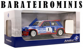 1:18 Renault 5 Maxi Turbo Tour De France Rally Solido Racing