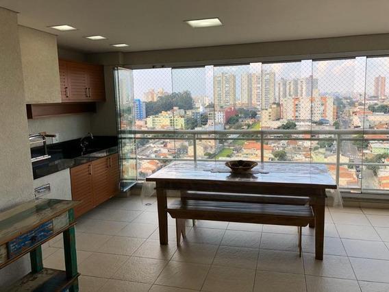 Apartamento Com 186 M² Sendo 3 Suite, 3 Vagas, Lazer À Venda Por R$ 1.300.000 - Santa Paula - São Caetano Do Sul/sp - Ap2341
