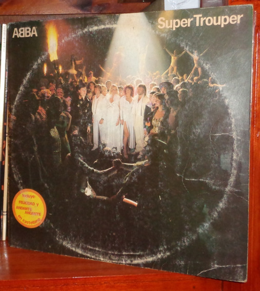 Abba - Super Trouper - Vinyl Arg.