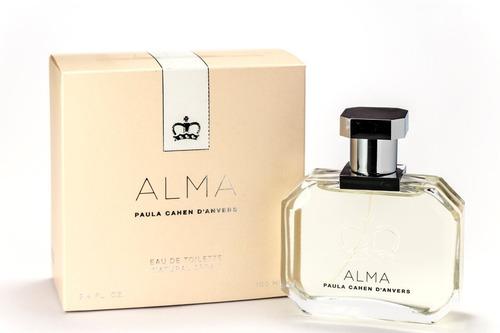 Perfume Paula Cahen Danvers Alma Edt X 100ml Ar1 8431-4