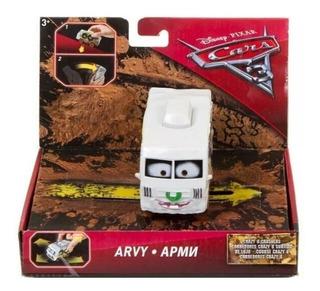 Vehiculo Arvy De Cars 3 Corredores Crazy 8 Crashers