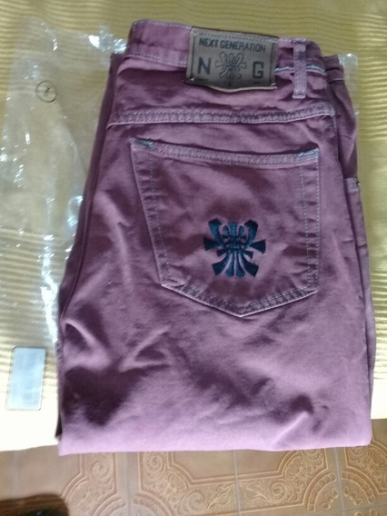 Jeans De Hombre Algodón Grueso 44
