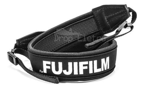Alça De Pescoço Neoprene Neck Strap Fujifilm Finepix Dslr