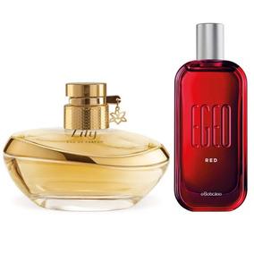 Combo Lily Eau De Parfum + Egeo Red Des. Colônia, 90ml