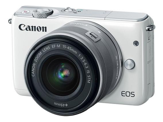 Canon M10 + Adaptador Lentes Ef/ef-s + Lente Ef-m 22mm F2