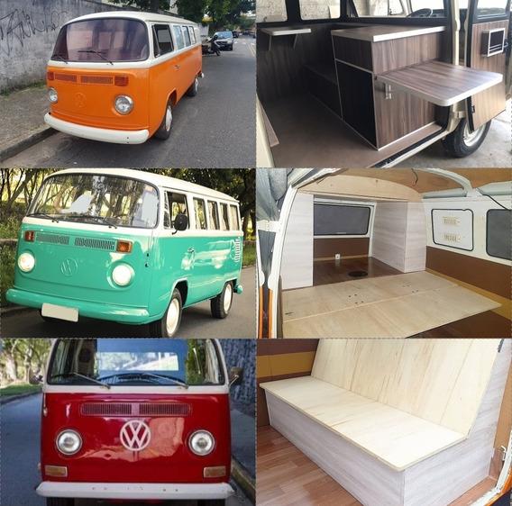 Volkswagen Kombi Camper Bus T1 E T2