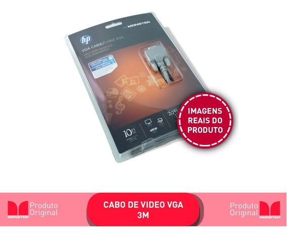 Cabo Vga Hp 3m Monster Promoção Oferta Hp Vga
