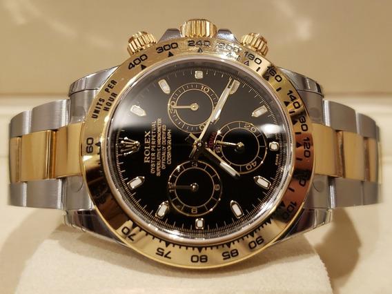 Rolex Daytona Ouro E Aço