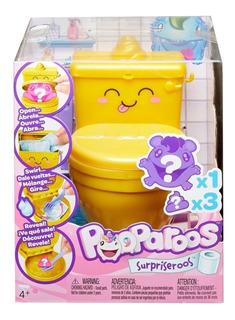 Pooparoos - Originales - Mattel - Con Inodoro - Gold Edition