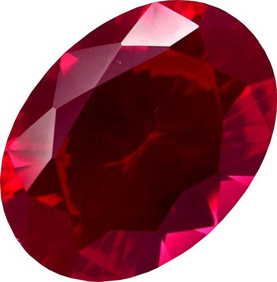 Belíssimo Rubi Pedra Preciosa Vermelho Brasa / 14,21cts