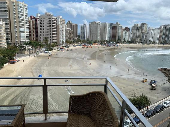 Guarujá Astúrias Pé Na Areia Frente Mar - General M. Barros