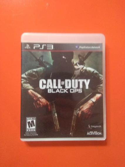Call Of Duty Black Ops - Ps3 - Mídia Física