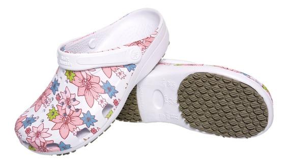 Sapato Feminino Eva Antiderrapante Enfermagem Cozinha Bb32