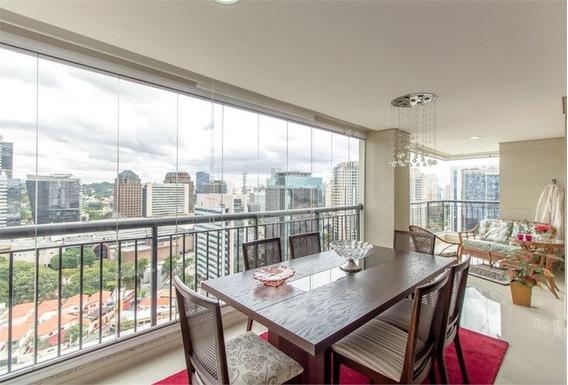 Apartamento Com Varanda Gourmet, Com Muito Bom Gosto, Em Andar Alto Pertinho Do Shopping Morumbi. - 375-im212914