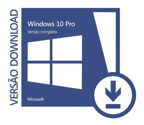 Windows 10 Pro 32/64 Bits Licença De Ativação E Atualização