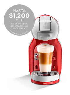 Cafetera Dolce Gusto Mini Me Moulinex Pv1205