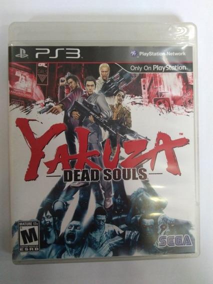 Jogo Yakuza Dead Souls Ps3 Mídia Fisica R$59,90