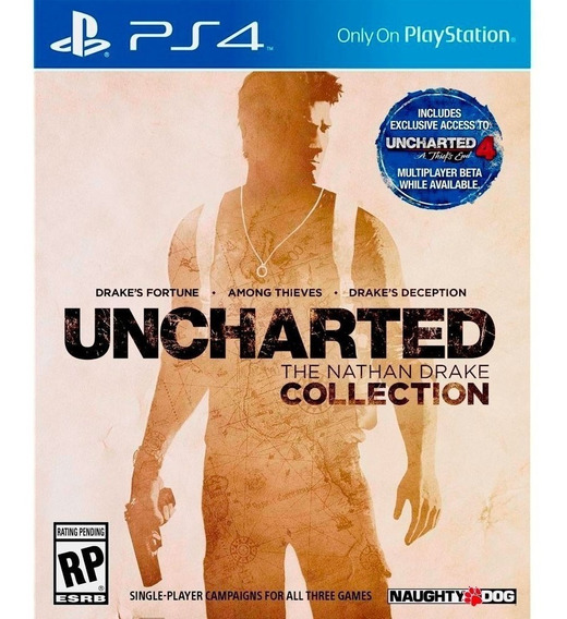 Uncharted Collection, Hitiman, Journey Ps4
