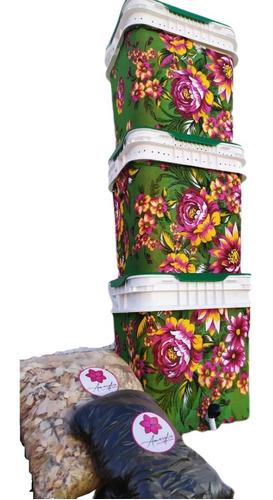 Composteira Doméstica/minhocário 45l