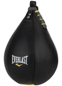 Everlast - Pera De Box De Cuero Negro