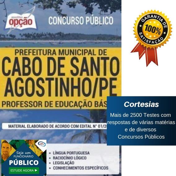 Apostila Cabo De Santo Agostinho Pe - Professor - Peb