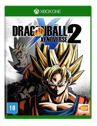 Dragon Ball Z Xenoverse 2 Dbz Xbox One Mídia Física