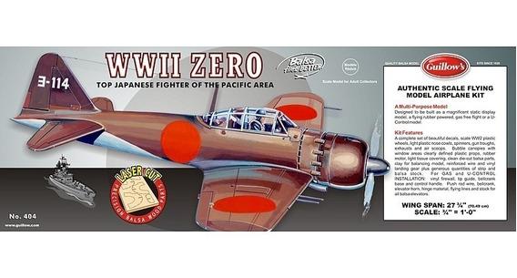 Guillows Kit P/construir Mitsubishi Zero 404