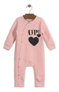 Macacão Bebê Malha Matelassê Up Baby