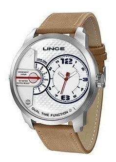 Relógio Masculino Marrom Lince Mrch080s B2tx