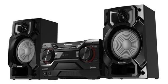 Aparelho De Som Panasonic Mini System, 2 Usb, Cd E Bluetooth