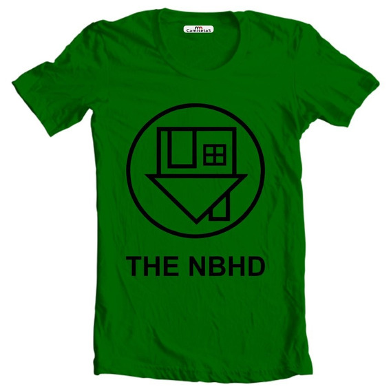 Camiseta Ou Baby Look The Nbhd Neighbourhood Camisa Rock
