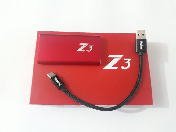 Hd Ssd Externo Portatil Kingspec Z3 500gb Usb Tipo-c