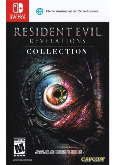 Resident Evil: Revelations Collection Switch Lacrado