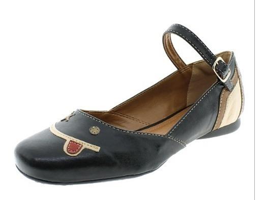 Sapato Feminino Boneca Preto/linhaça Magoblan -621736