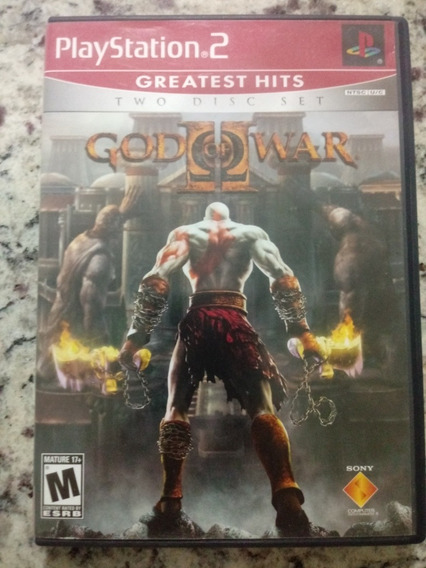 God Of War Jogo Ps2 Original