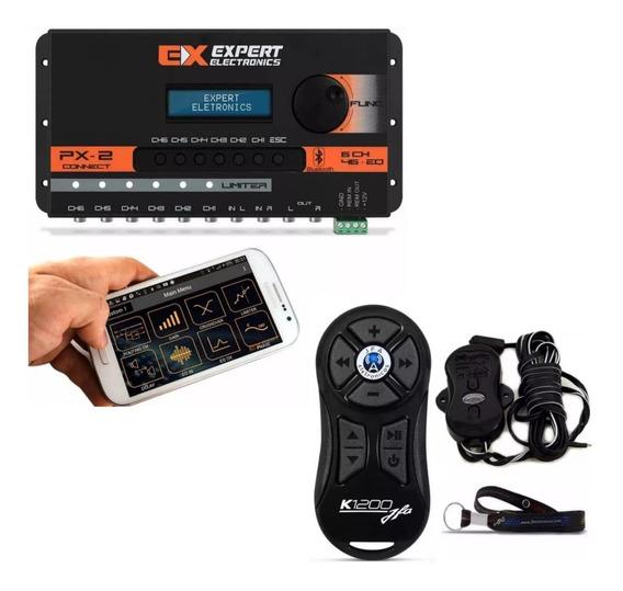 Processador C/ Bluetooth Px2 + Controle Distancia Jfa K1200