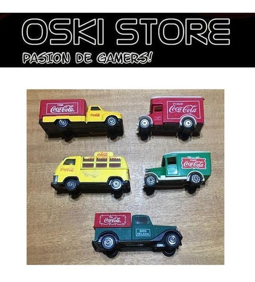 Autos De Colección Coca Cola // 5 Modelos ´90