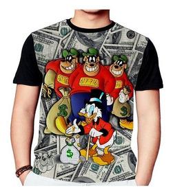 Camisa Camiseta Tio Patinhas Irmãos Metralhas 793