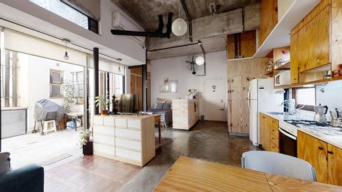 Imagen 1 de 22 de Vta. Loft Est. Industrial A Nuevo C/patio, La Boca