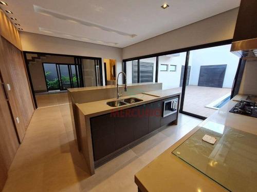 Imagem 1 de 27 de Casa À Venda, 330 M² Por R$ 2.750.000,00 - Condomínio Spazio Verde - Bauru/sp - Ca3552