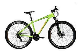 Bicicleta Venzo Eolo R29 - 24 Vel Shimano Acera Discos Hidra