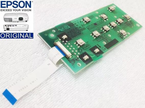 Placa Teclado Projetores Epson S12+,w12, X14+ & Compatíveis