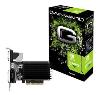 Placa De Vídeo Gainward Gt 710 2gb Ddr3 - Com Garantia