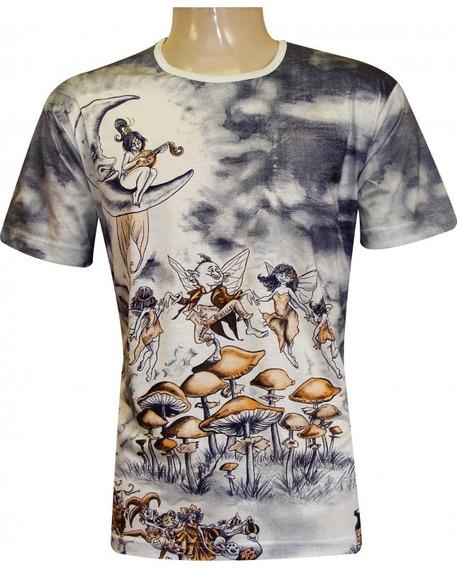 Kit 10 Camisetas Bata Unissex Indiana Malha Fria Viscose