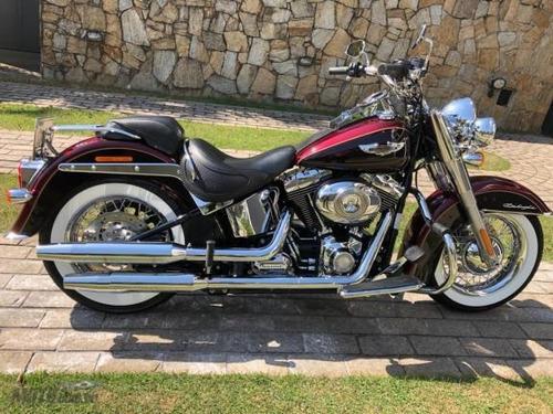 Harley Davidson Softail Deluxe Flstn 2014 Nova