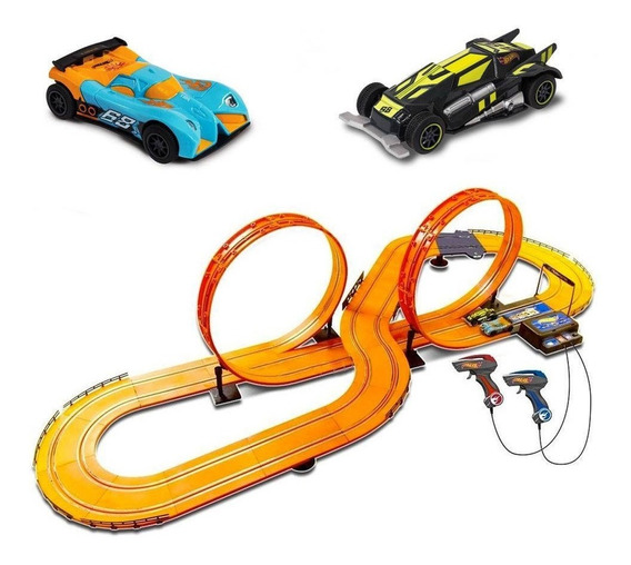 Pista Hot Wheels Track Multikids Set Deluxe 632cm Br083