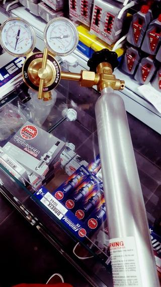 Kit Cilindro Co2 Biondo (fueltech-injepro-pandoo E Etc...)