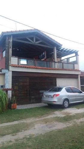 Casa Residencial Com Sacada Para O Mar, Ref. 0772  M H